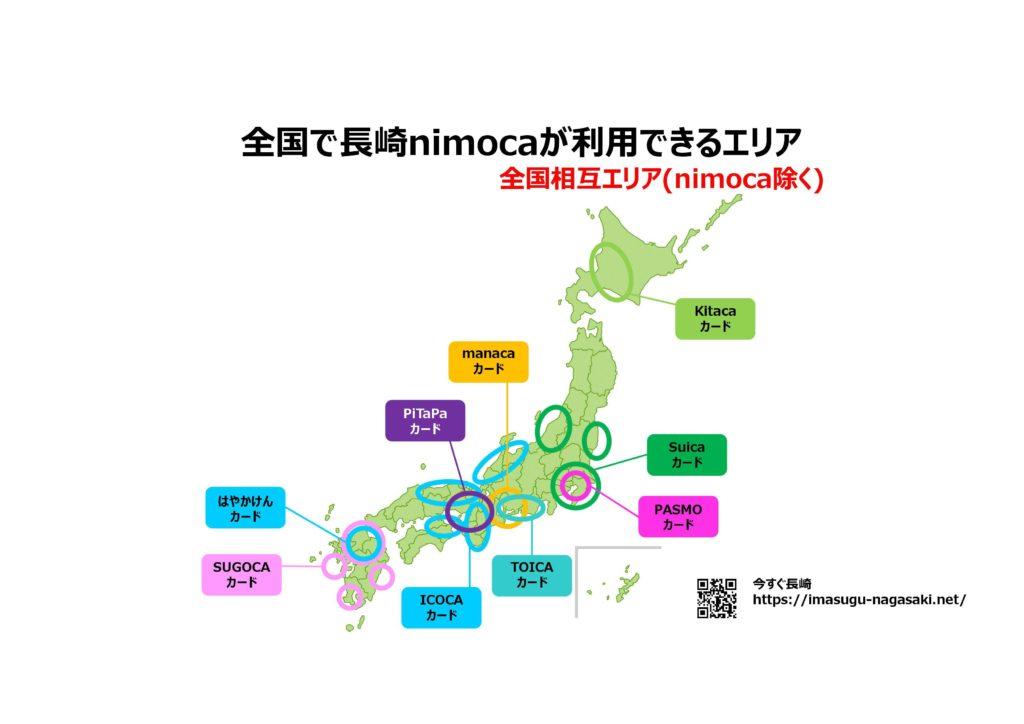 https://imasugu-nagasaki.net/wp-content/uploads/2019/12/長崎nimoca(ニモカ)九州全国どこで使える?何に使える?基本情報03.jpg全国編