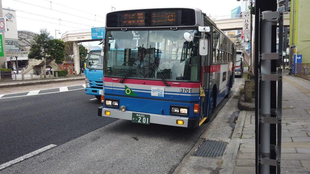 ウルトラマン的な長崎バス