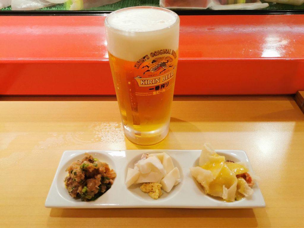 長崎空港鮨どころ しょうぶビールセット