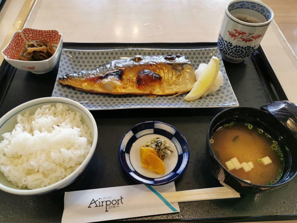 長崎空港レストランAirPort旬さば定食