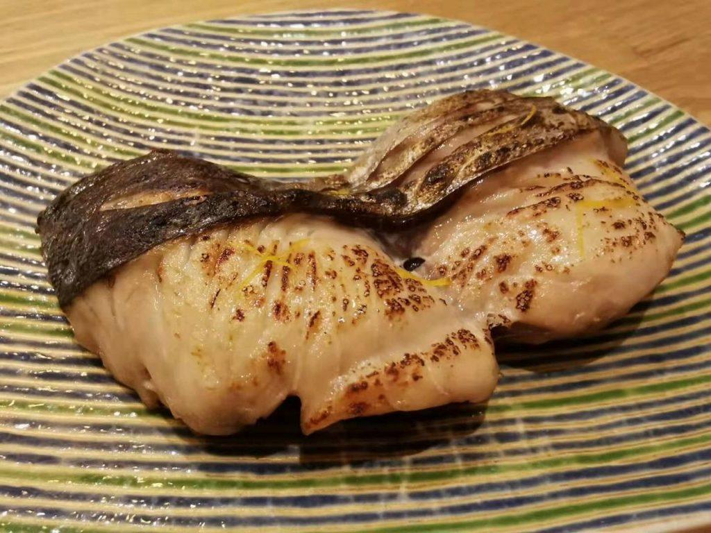 長崎産のサワラ焼き