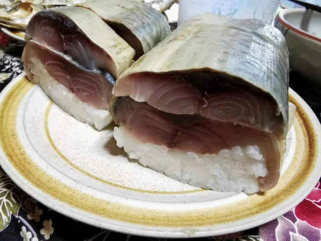長崎五島の鬼棒鯖寿司