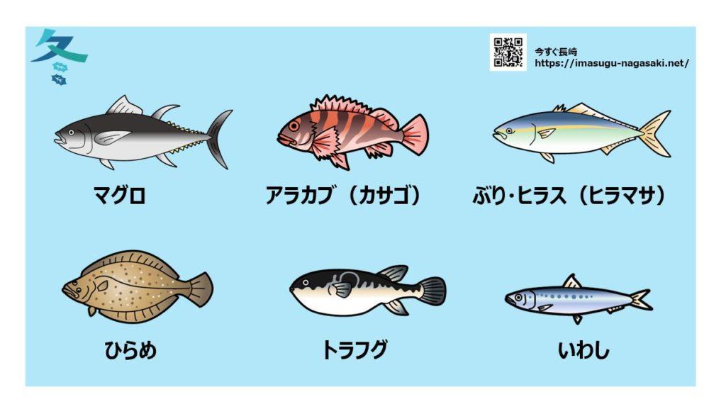 長崎の冬に旬を迎える魚の種類